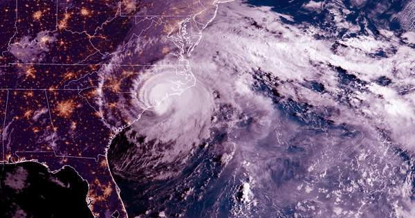 Catastrophic hurricanes will become more frequent if we miss drastic climate change targets