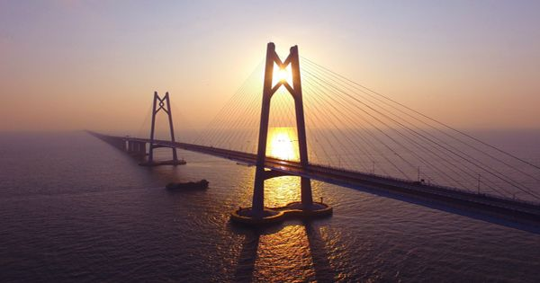 Leonardo Da Vinci Once Designed The World's Longest Bridge