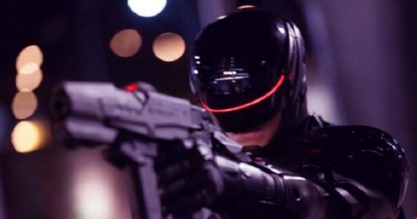 The Robocop of California had to deal with his first offense, and it didn't go well