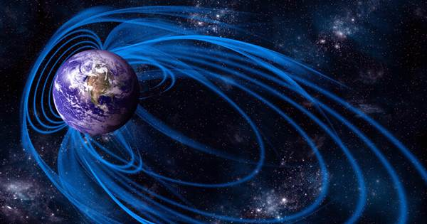 The South Atlantic anomaly of the Earth's magnetic field is millions of years old