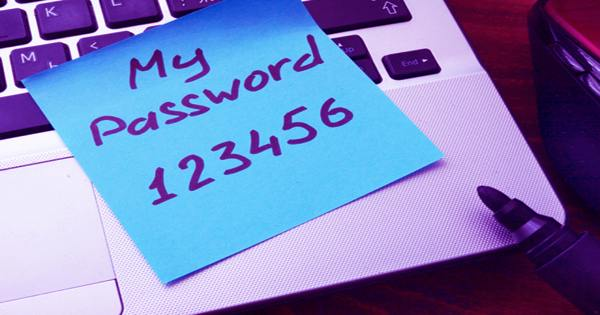 These are the most commonly used passwords. Please stop using these