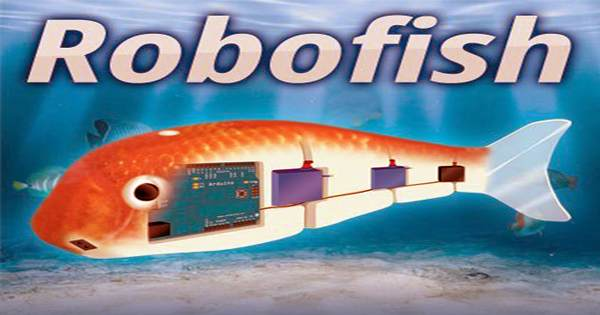 Using synthetic blood this robot fish can swim for hours