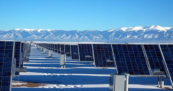 How much solar at higher altitudes could power the whole country even in winter