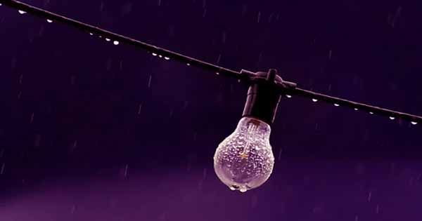 The generator can power 100 LEDs from the power of a single falling raindrop