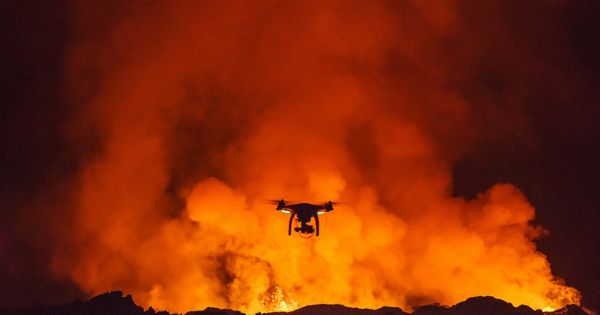 Drone technology now able to monitor the mouth of explosive volcanoes