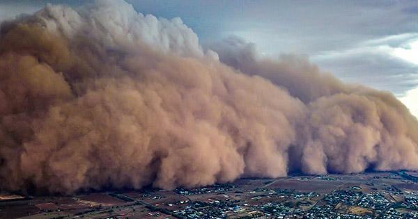 A Huge Cloud of Dust from the Sahara Desert Could Hit the United State