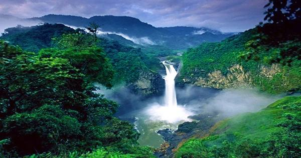 Ecuador's Tallest Waterfall Has Suddenly Disappeared