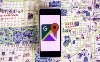 Google Maps App upgraded AR navigation 1