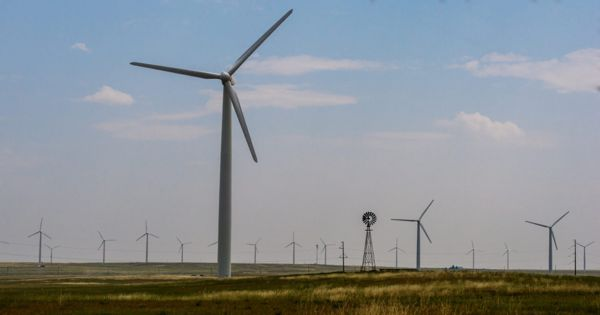 Researchers developed a wind turbine blade that appears to be recyclable