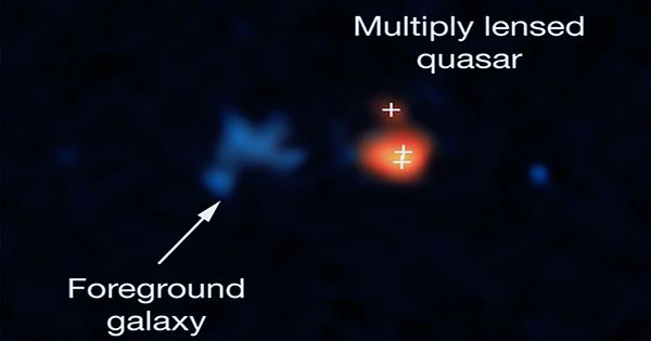 Astronomers Find The Most Distant Quasar Ever Discovered, and It's a Beast