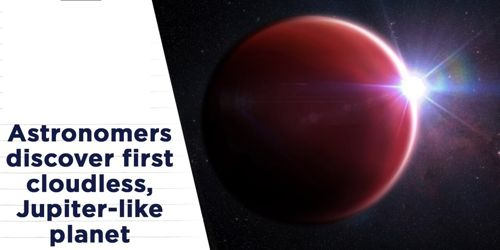 Astronomers detected cloud-free exoplanet looks like Jupiter 1