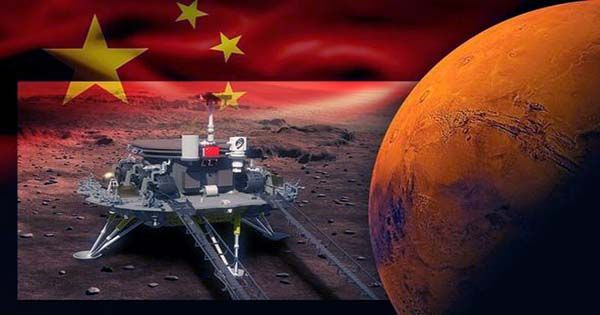 China's Tianwen-1 Space Probe Has Successfully Arrived At Mars