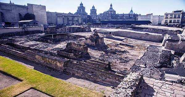 Giant Eagle Artwork Discovered In the Heart of Aztec Capital
