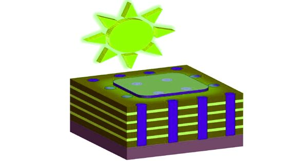Infinitesimal 3D structures enhance constructing special solar cells efficiency