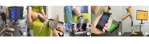 New soft flexible sensor system aiming to map pressure points for amputees 1
