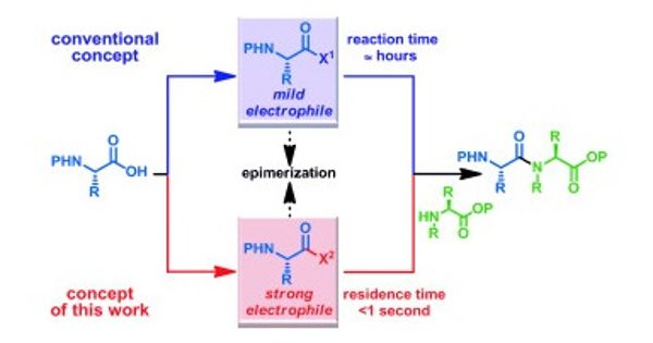 Scientists introduced new type of reaction of amide bonds under mild conditions