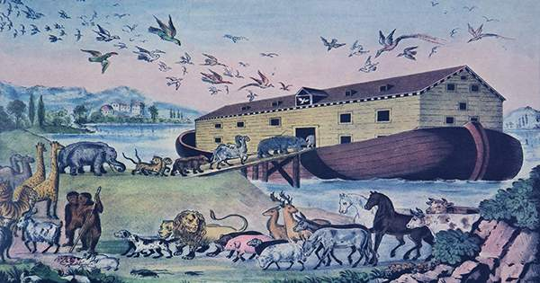The Ancient Babylonian Flood Myth That Inspired Noah's Ark Had a Dark Twist