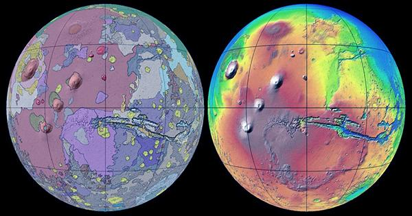 There's Plenty Of Water Ice Buried On Mars According To New Map