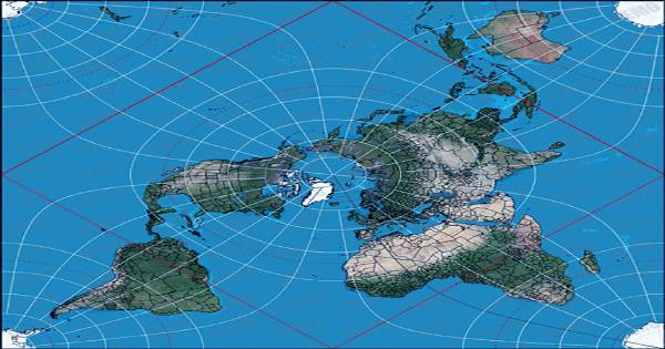 New-2D-Map-Of-World-Most-Accurate-Ever-Made-And-Flat-Earthers-Are-Going-To-Love-It