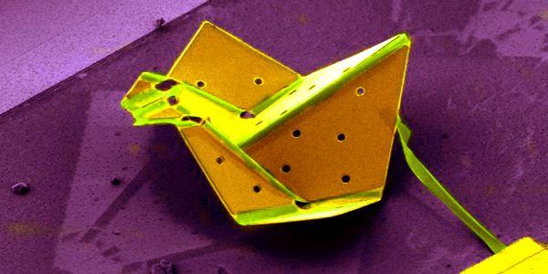 Researcher-creates-the-worlds-smallest-origami-bird-using-nanotech-1