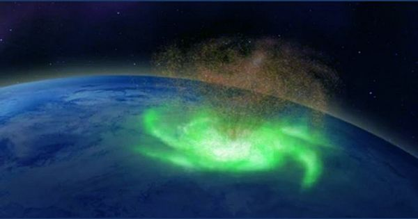 """Scientists Discover Earth's Polar Regions Have """"Space Hurricanes"""""""