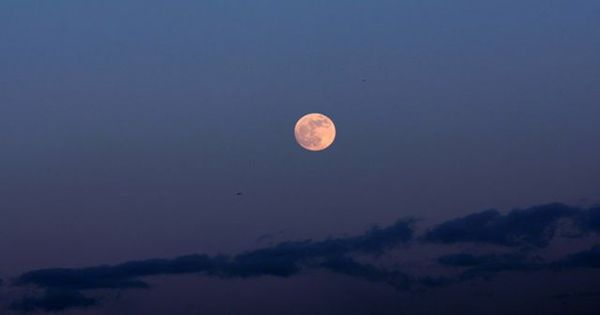 """A """"Pink Supermoon"""" Will Be Visible This Week (No, It's Not Actually Pink)"""