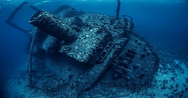 Deepest Ever Shipwreck Dive Explores Famed WW2 Pacific Warship