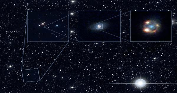 European Satellite Finds 12 Very Rare Einstein Crosses