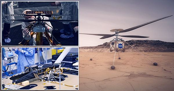 New High-Res Video Shows Ingenuity Making Its Historic Flight on Mars