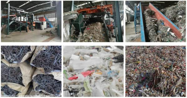 Pulp mill waste for road construction in an environmentally friendly manner