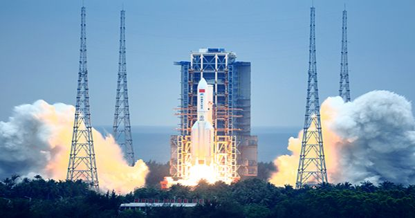 Large Part Of Chinese Rocket Could Be Tumbling To Earth In Uncontrolled Reentry