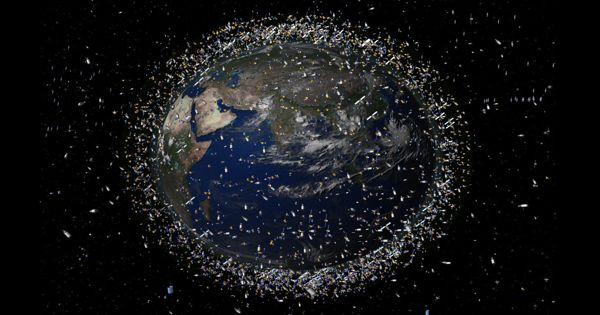 Rising Carbon Dioxide Levels May Cause Space Junk Problem