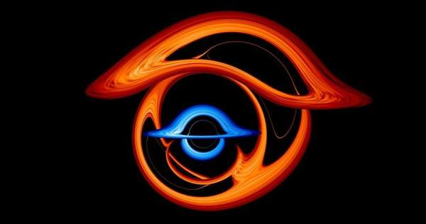 A Pair of Orbiting Black Holes Millions of Times the Sun's Mass – NASA's Visualization