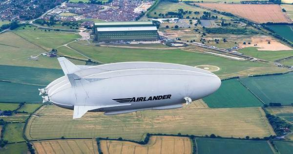 Could Airships be the Green Future of City-Hopping Air Travel?