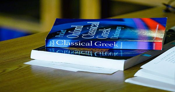 """First New English-Ancient Greek Dictionary since Victorian Period """"Spares No Blushes"""" this Time"""