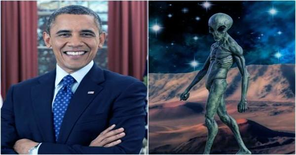 """Obama Speculates """"New Religions"""" will Appear if Alien Life Makes Contact"""