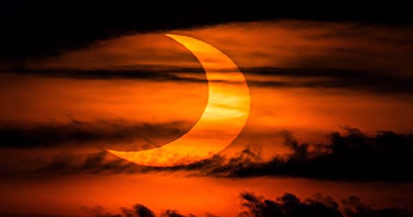 Some of the Best Photos from Today's Ring of Fire Solar Eclipse