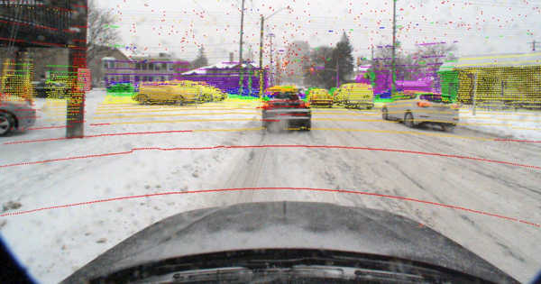 A New Algorithm Supports Autonomous Vehicles in Locating Themselves