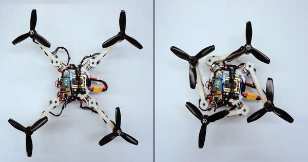 Improving Design and Features of Quadrotor Drone Performance