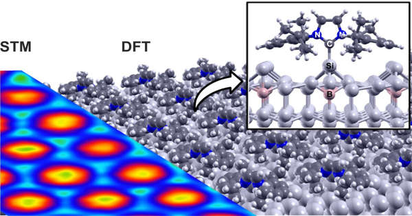 Researchers Succeeded in Depositing Nitrogen-containing Organic Molecules