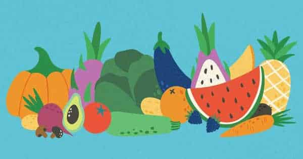 Study finds that Eating more Fruits and Vegetables Leads to Less Stress