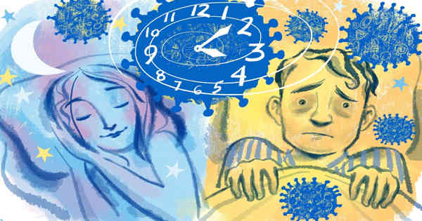 Study found Stress and Depression during Pandemic linked with Lower Quality Sleep