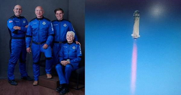 Blue Origin's Final Passenger for its First Human Spaceflight will be 18-Year-Old Oliver Daemen