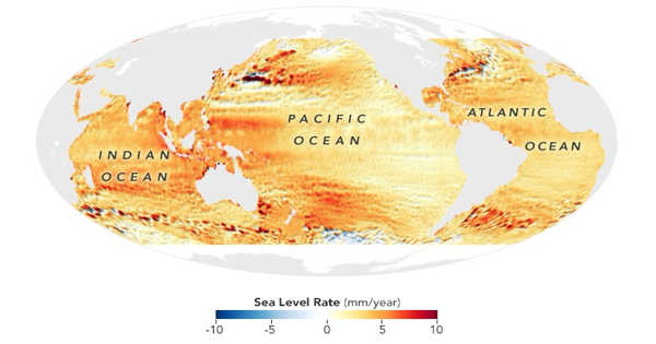 Detecting the Impact of Sea Level Rise Using a New Method