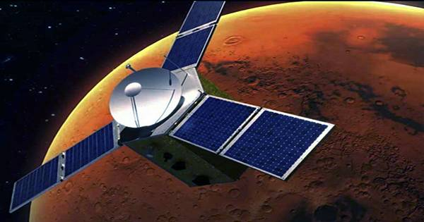 Emirates' Hope Mission Spots Dust, Clouds, and a Blob of Oxygen in the Martian Atmosphere