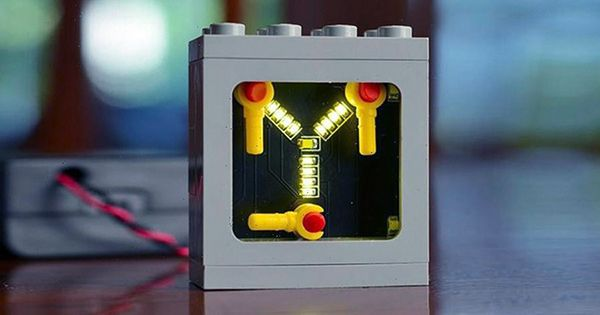 Get this LEGO-Inspired Flux Capacitor Kit for Under $55
