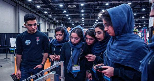 Half of the Afghan All-Girl Robotics Team have Successfully Fled Afghanistan