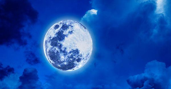 """Look Up, there's a """"Blue Moon"""" Rising this Weekend"""