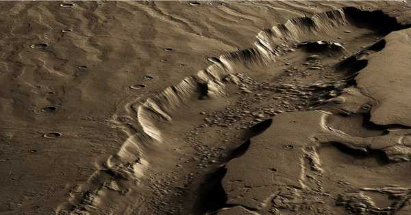 NASA Scientists Suggest Life on Mars Could Be Nuclear-Powered