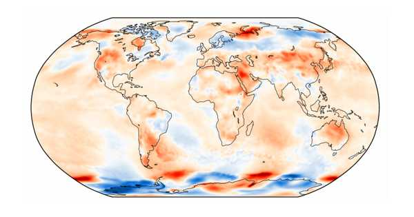 Officially July 2021 was the Warmest Month on Record